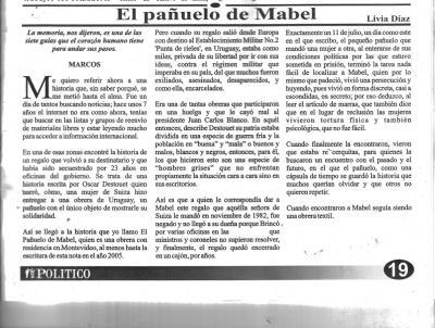 EL PAÑUELO DE MABEL